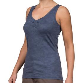 Bergans W's Linnea Wool Singlet Dusty Blue Melange